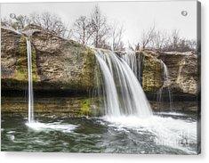 Lower Mckinney Falls Acrylic Print