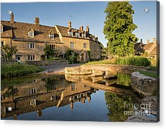 Lower Slaughter Cotswolds Acrylic Print by Tim Gainey