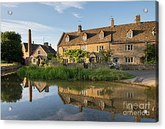 Lower Slaughter Acrylic Print by Tim Gainey