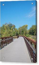 Lower Yahara River Trail 5 - Madison - Wisconsin Acrylic Print
