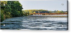 Lower Yahara River Trail - Madison - Wisconsin Acrylic Print