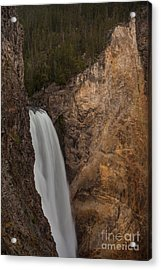 Lower Yellowstone Waterall Acrylic Print