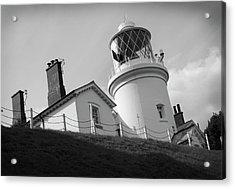 Lowestoft Lighthouse Acrylic Print by Gordon Powles