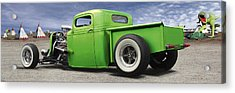 Lowrider At Painted Desert Acrylic Print