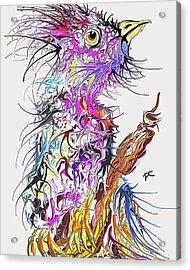 Lsd Bird 2 Acrylic Print