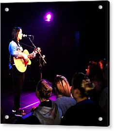 @lspraggan #hometour #home #livemusic Acrylic Print by Natalie Anne