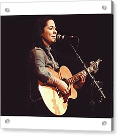 @lspraggan In @brighton The Other Acrylic Print by Natalie Anne