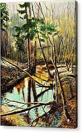 Lubianka-1- River Acrylic Print