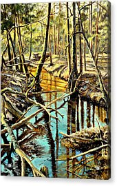 Lubianka-3-river Acrylic Print