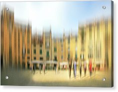 Lucca Ampitheatre Impression 1 Acrylic Print by Marty Garland