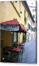 Lucca In Tuscany Acrylic Print by  K Scott Williamson