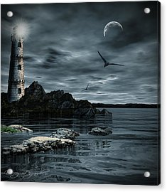 Lucent Dimness Acrylic Print by Lourry Legarde