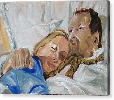 Lucian And Kate I Acrylic Print by Bachmors Artist