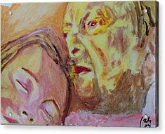 Lucian And Kate V Acrylic Print by Bachmors Artist