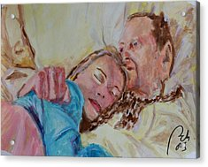Lucien And Kate II Acrylic Print by Bachmors Artist