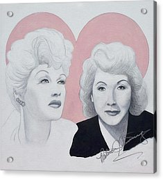 Lucille And Vivian Acrylic Print