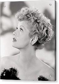 Lucille Ball Portrait 1940s Photograph By Everett