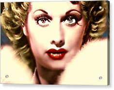 Lucille Golden Years Acrylic Print by Wbk