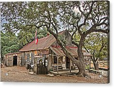 Luckenbach Post Office And General Store_1 Acrylic Print