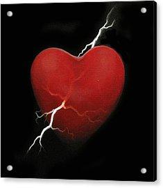 Lucky Strike Acrylic Print by Boris Koodrin
