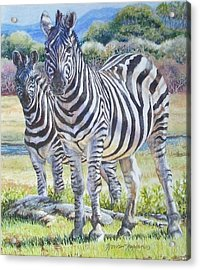 Lucky Stripes Acrylic Print