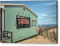 Acrylic Print featuring the photograph Luckys At Jenkinsons South by Kristia Adams