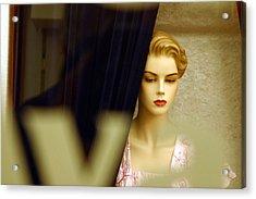 Lucy Alone Acrylic Print by Jez C Self