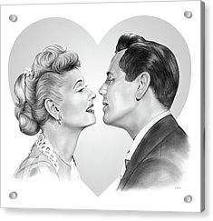 Lucy And Desi Acrylic Print