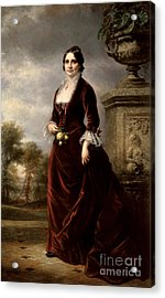Lucy Hayes, First Lady Acrylic Print by Science Source