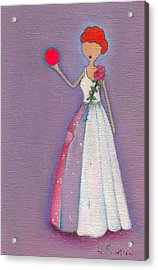 Lucy's Friendship Ball Acrylic Print