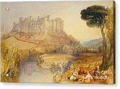 Ludlow Castle  Acrylic Print by Joseph Mallord William Turner