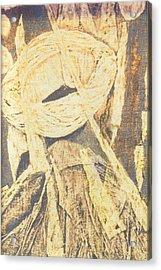 Lui 2002 Acrylic Print by Halima Echaoui