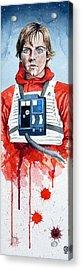 Luke Acrylic Print by David Kraig