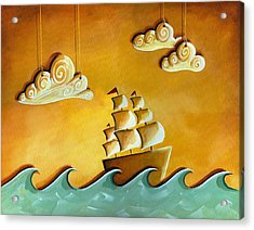 Lullaby Bay Acrylic Print by Cindy Thornton