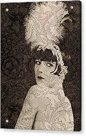 Lulu In Hollywood Acrylic Print by Sarah Vernon