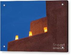 Luminarias At Twilight Acrylic Print