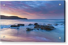 Luminescent Sunrise Seascape Acrylic Print