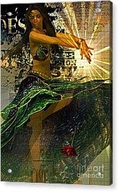 Luminitsa  Acrylic Print by Shadowlea Is