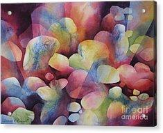 Luminosity Acrylic Print by Deborah Ronglien