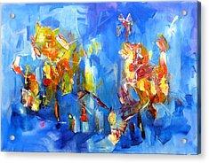 Luminous Celebration  Acrylic Print
