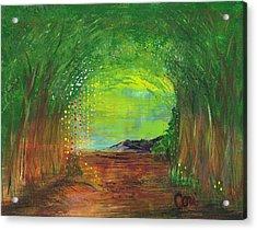 Luminous Path Acrylic Print