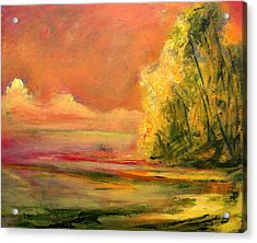Luminous Sunset 2-16-06 Julianne Felton Acrylic Print