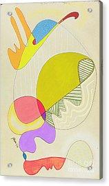 Lummox Copyright Two Thousand Nine J.a.moscariello Acrylic Print by Jaye  Alison