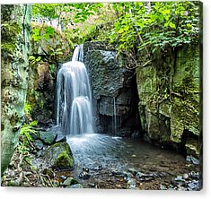 Lumsdale Falls Acrylic Print