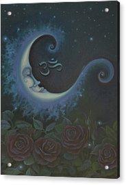 Lunar Connections Acrylic Print