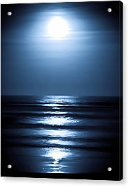 Lunar Dreams Acrylic Print by DigiArt Diaries by Vicky B Fuller