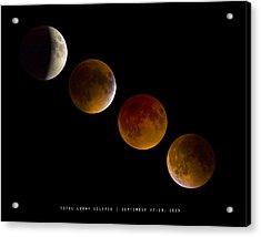 Lunar Eclipse 2015 Acrylic Print