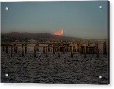 Lunar Eclispe  Acrylic Print