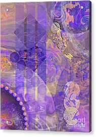 Lunar Impressions 2 Acrylic Print by John Beck