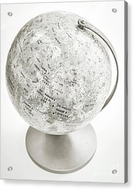 Acrylic Print featuring the photograph Lunar Moon Globe by Edward Fielding